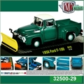 1956 - Ford F-100 Limpa-Neve - M2M - 1/64