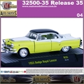 1955 - Dodge ROYAL Lancer R35 Amarelo - M2 Auto-Thentics - 1/64