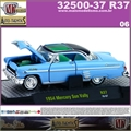 1954 - Mercury SUN VALLEY R37 Azul - M2 Auto-Thentics - 1/64