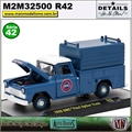 1958 - GMC Fleet Option Truck Azul R42 - M2 Auto-Trucks - 1/64