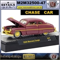 1949 - Mercury Coupe R47 CHASE CAR - M2 Auto-Thentics - 1/64