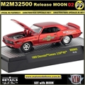 1969 - Chevrolet Camaro Z/28 RS MOON02 - M2 Machines - 1/64