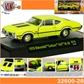 1970 - Oldsmobile Cutlass 442 Amarelo - M2M - 1/64