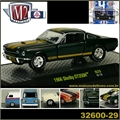 1966 - Shelby GT350 H Verde Escuro - M2M - 1/64