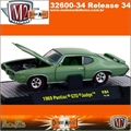 1969 - Pontiac GTO JUDGE R34 Verde - M2 Machines - 1/64