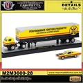 1969 Dodge L600 and 1969 Plymouth Road Runner 440 - AUTO-HAULERS M2M - 1/64