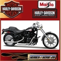 Harley-Davidson 2002 FXSTB NIGHT TRAIN - Maisto - 1/18