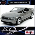 2011 - FORD MUSTANG GT 5.0 Cinza - Maisto - 1/24