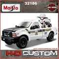 1999 - FORD F-350 SUPER DUTY PICKUP POLÍCIA - Maisto - 1/27