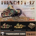 FRENCH FT-17 Light Tank - Meng - 1/35