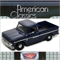 1966 - Chevrolet C10 FLEETSIDE Pickup Azul - Motormax - 1/24