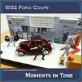 1932 - Diorama FORD COUPE - Motormax - 1/43