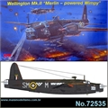 Vickers WELLINGTON Mk.II Merlin - MPM - 1/72