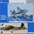 Gloster E.28/39 Pioneer Late Version - MPM Special Hobby - 1/48