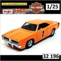 1969 - Dodge Charger R/T - H-D Custom Maisto - 1/25