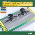 Dobrador de Photo-Etched - Master Tools Trumpeter