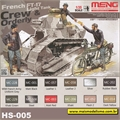 Figuras p/ tanque FT-17 Light Tank - Meng - 1/35