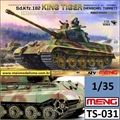 Sd. Kfz. 182 KING TIGER German Heavy Tank - Meng - 1/35