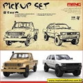PICK UP SET - 2 Kits Meng - 1/35