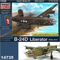 Boeing B-24D Liberator Moby Dick - Minicraft - 1/144