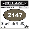 Tinta Model Master 2147 Esmalte OLIVE DRAB no. 8 Semi-Brilho - 14,7ml