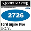 Tinta Model Master 2726 Esmalte AZUL MOTOR FORD - 14,7ml