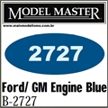 Tinta Model Master 2727 Esmalte AZUL MOTOR FORD / GM - 14,7ml