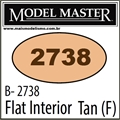 Tinta Model Master 2738 Esmalte TAN INTERIOR Fosco - 14,7ml