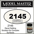 Decal Solvent Solution 2145 Model Master (p/ Superfícies Complexas) - 14,7ml