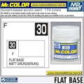Tinta Gunze Acrílica Mr Color C 30 BASE FOSCA - 10ml