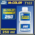 Diluente p/tinta Mr COLOR - Mr COLOR T103 - Mr Color - 250ml