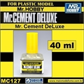 Cola Líquida c/Pincel Mr CEMENT MC127 - Mr Hobby - 40ml
