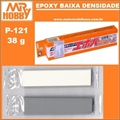 Massa Mr EPOXY PRO-L P121 Baixa Densidade - Mr Hobby - 38g