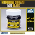 Primer Mr FINISHING SURFACER 1500 Black SF288 - Mr Hobby - 40ml
