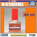 Dil. Mr RETARDER MILD T105 - Mr Hobby - 40ml
