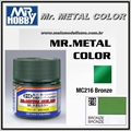 Tinta Gunze Mr Metal Color MC216 BRONZE Metálico - 10ml