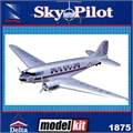 SP - Douglas DC-3 DELTA - (SNAP) DTC New Ray