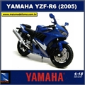 YAMAHA YZF R6 (2005) - New Ray - 1/18