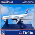 Delta - Boeing 777-200 DELTA Airlines - New Ray - 1/900