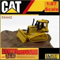 CAT - Trator CAT D5M TRACK TYPE Earth Movers - Norscot - 1/87