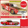1969 - Mercury CYCLONE Spoiler II - Polar Lights - 1/25