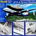 Boeing 747 SCA SPACE SHUTTLE - Revell - 1/144