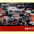 F-1 Vodafone McLAREN MP4-25 MERCEDES - GIFT SET Revell - 1/24