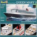 Transatlântico QUEEN MARY 2 - Revell - 1/1200