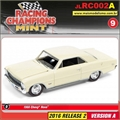 1966 - Chevy Nova Amarelo - Johnny Lightning - 1/64
