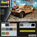 German Staff Car VW TYPE 82 KUEBELWAGEN - Revell - 1/35