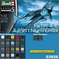 Focke Wulf FW190 A-8 / R11 NightFighter - Revell - 1/32