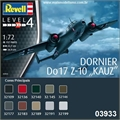 Dornier Do 17 Z-10 KAUZ - Revell - 1/72