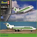 BOEING 727-100 Germania Airways - Revell - 1/144