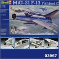 MiG-21 F-13 Fishbed C - Revell - 1/72